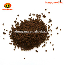 25-45% Natural Manganese green sand For water Removal Fe and Mn