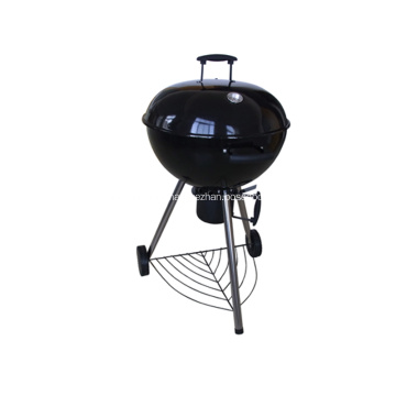 High Quality Glossy Porcelain Charcoal Grill 22.5 Inch