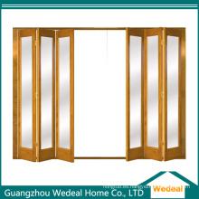 Puerta plegable plegable del sitio / del armario de madera para el proyecto