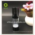 30 ml Vente chaude de haute qualité maquillage emballage transparent coloré cosmétique AS bouteille de pompe airless avec bouchon ABS