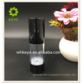 30ml Hot sale high quality make up packing transparent colored empty cosmetic AS airless pump bottle with ABS cap