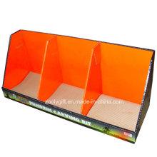 Impresión personalizada de papel corrugado caja de visualización