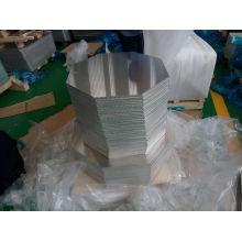 Panneaux d'affichage en aluminium octogonaux pré-percés et Radius Corners