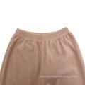 girls kids winter warm classic long pants knitted sleepwear Bottom