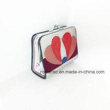 Marca Fashion Designer Lady PU bordado carteira (NMDK-052302)