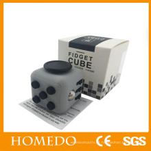 Original Magic Fidget Cube Adultos Ansiedade Stress Relief Fun Desk Toy Kids Gift