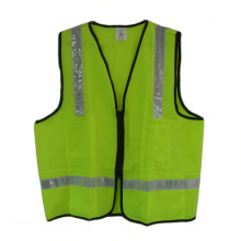 Class Safety Vest with Logo and Pockets