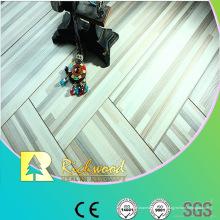 Hogar 12mm relieve en relieve encerado piso Lamiante