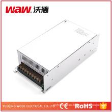 Fuente de alimentación de la transferencia de 500W 12V 40A con la protección del cortocircuito