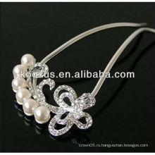 Лучшие свадебные украшения для волос ювелирные изделия из Китая прямой завод