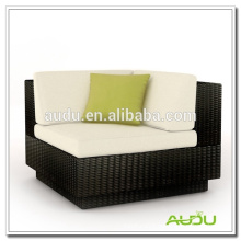 Audu Black Rattan Garden Elegant Chair