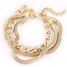 Модные дешевые цены золотые цепочки браслет аксессуары для женщин