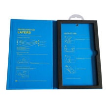 the toughened film color gift box