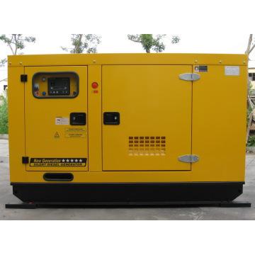 Grupo de gerador diesel à prova de som de 136kw / 170kVA CUMMINS