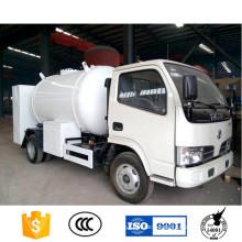 5500 Litres LPG Gas Tank Truck with Dispenser / Refuling LPG Tank Truck
