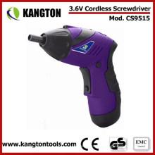 Juego de destornilladores sin cable eléctrico de 3.6V DC (KTP-CS9515)