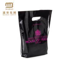 Sac en plastique cosmétique de poignée de poche d'usine de Guangzhou