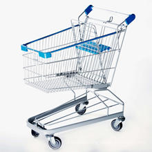 Germany Style Supermarket Shopping Trolley