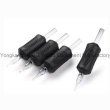 Premium Disposable Black Tattoo Silicone Rubber Grip