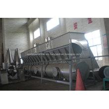 Secador de lecho de ebullición horizontal de partículas de PVC químico