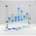 Acrylic 4 In A Row Game Set Blue