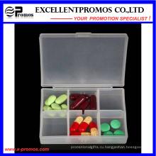 Высокое качество 6шт. Логотип Custom Pillbox (EP-030)