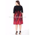 2017 nuevas señoras del diseño visten el verano Chic Fashion Plus Size Women Clothing Bohemian Dress