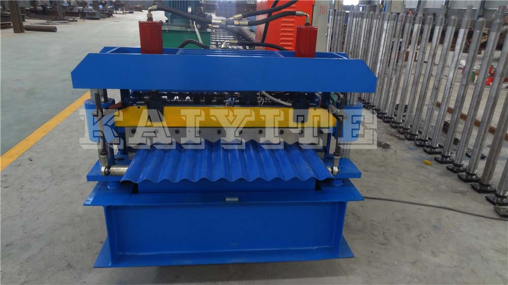 Roof Tile Corrugated Roll Forming Machine
