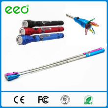 telescopic flexible work light extending led flashlight