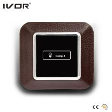 Cadre de contact en cuir avec écran tactile (AXL-LE-L1)