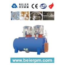 SRL-W 800X2 / 4000 mélangeur horizontal de chauffage / refroidissement à grande vitesse en plastique / machine de Compounding