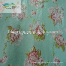 100% algodão impresso saco de pano ou superficial do tecido revestido de PVC/mesa