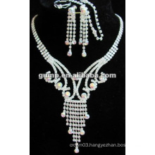 Latest bridal wedding jewelry set (GWJ12-438)