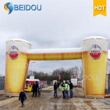 Giant Advertising Air Balloon Beer Inflatable Arch Produits Répliques