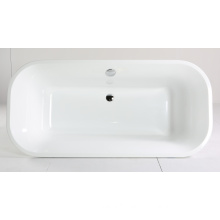 White Acrylic Bathtub with CE Certificate