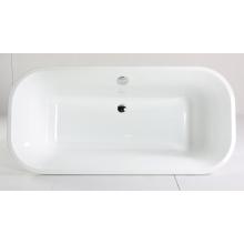 Белая акриловая ванна с сертификатом CE