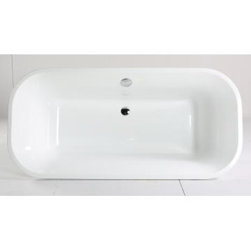Bañera de acrílico blanco con el certificado de CE