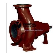 Pompe à eaux usées horizontale à sec Lw