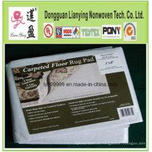 Teppichboden-Teppich-Auflage entsprechen RoHS, Dural Anti-Rutsch-Rug-Pad
