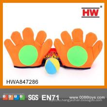 Хорошее качество ткани перчатки Catch Ball игры