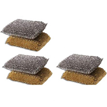 Heavy Duty Scrub Pad Dish Cleaning Non-Scratch Cellulose Sponge Scouring Pad