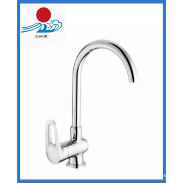 Robinet d'eau de mélangeur de cuisine à une poignée (ZR21505-B)