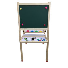 Hot Christmas Gift Wooden Magnetic Standing Art Easel for Kids and Children