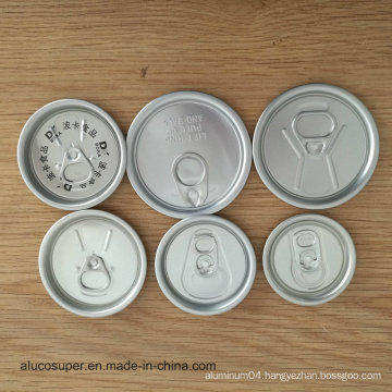 Aluminum Easy Open Lid 200 Eoe for Drink and Beer
