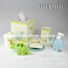 Kid Style Polyresin Bath Accessory Set (WBP0212A)