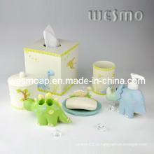 Комплект принадлежностей для ванны из полирезина для детей (WBP0212A)