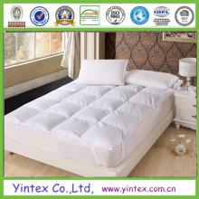 Alta calidad plegable de colchón de franela colchón de microfibra de relleno / colchón de protección / colchón de la cubierta