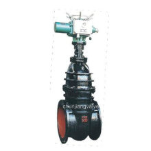 Electric/Bevel Gear Drive Iron Gate Valve with Non-Rising Stem