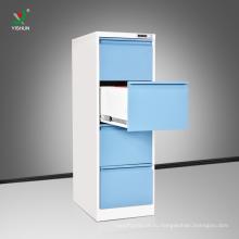 Горячая продажа сталь 4 ящика шкафа офисная металлическая А4 файл