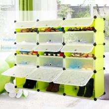 Personnalisé pliable en plastique armoire penderie (Transparent)